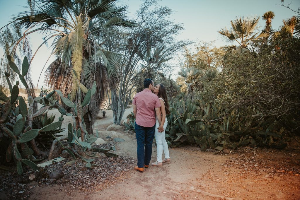 ENGAGEMENT photos: Cactus Garden, Balboa Park