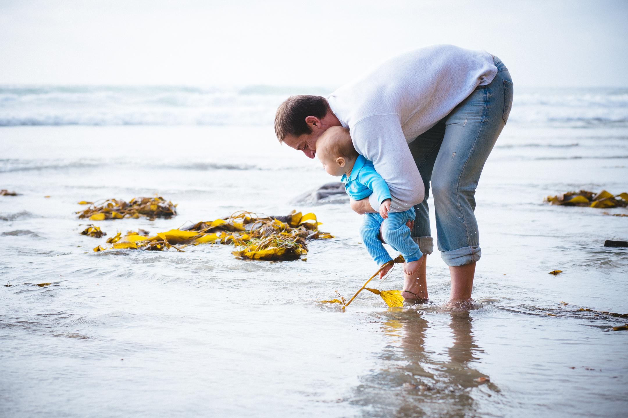 FAMILY photos: Scripps Beach, La Jolla, CA