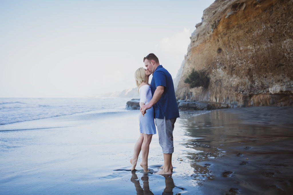 ENGAGEMENT photos: Scripps Beach