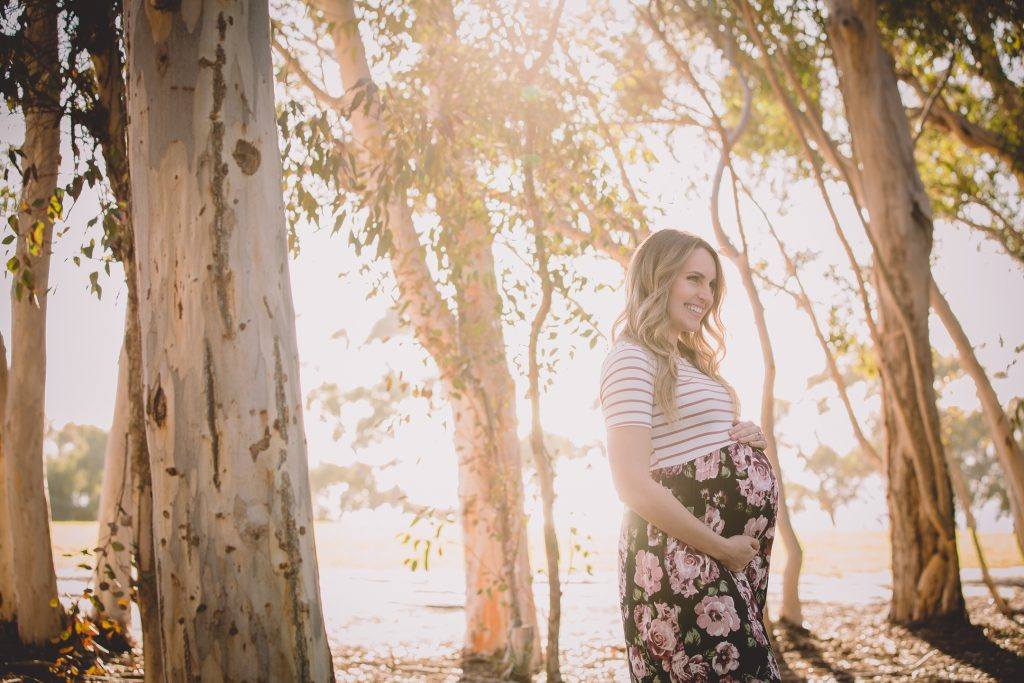 MATERNITY photos: La Jolla Scripps Woods