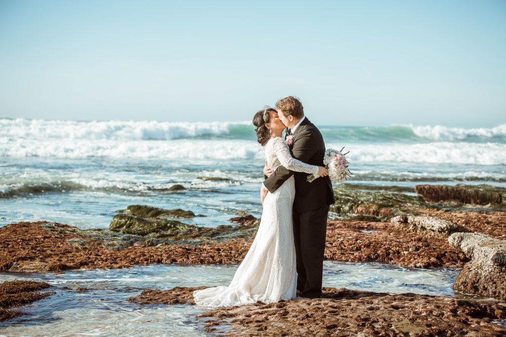 WEDDING photos: La Jolla Beach Wedding