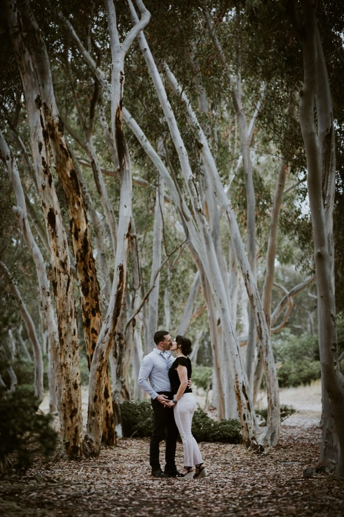 ENGAGEMENT photos: Scripps Beach + Woods