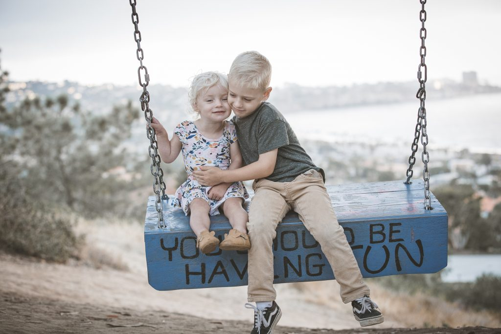 KIDS FAMILY photos: Scripps Woods Swing La Jolla