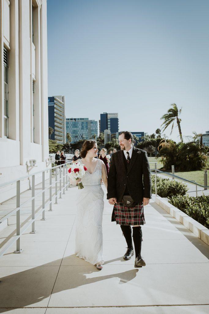 WEDDING photos: San Diego Courthouse + Star of India