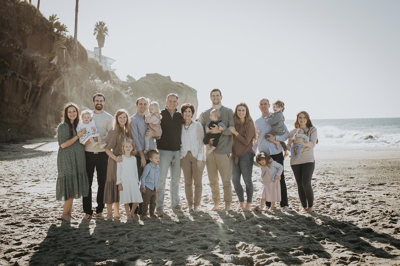 Aliso State Beach Family Photos