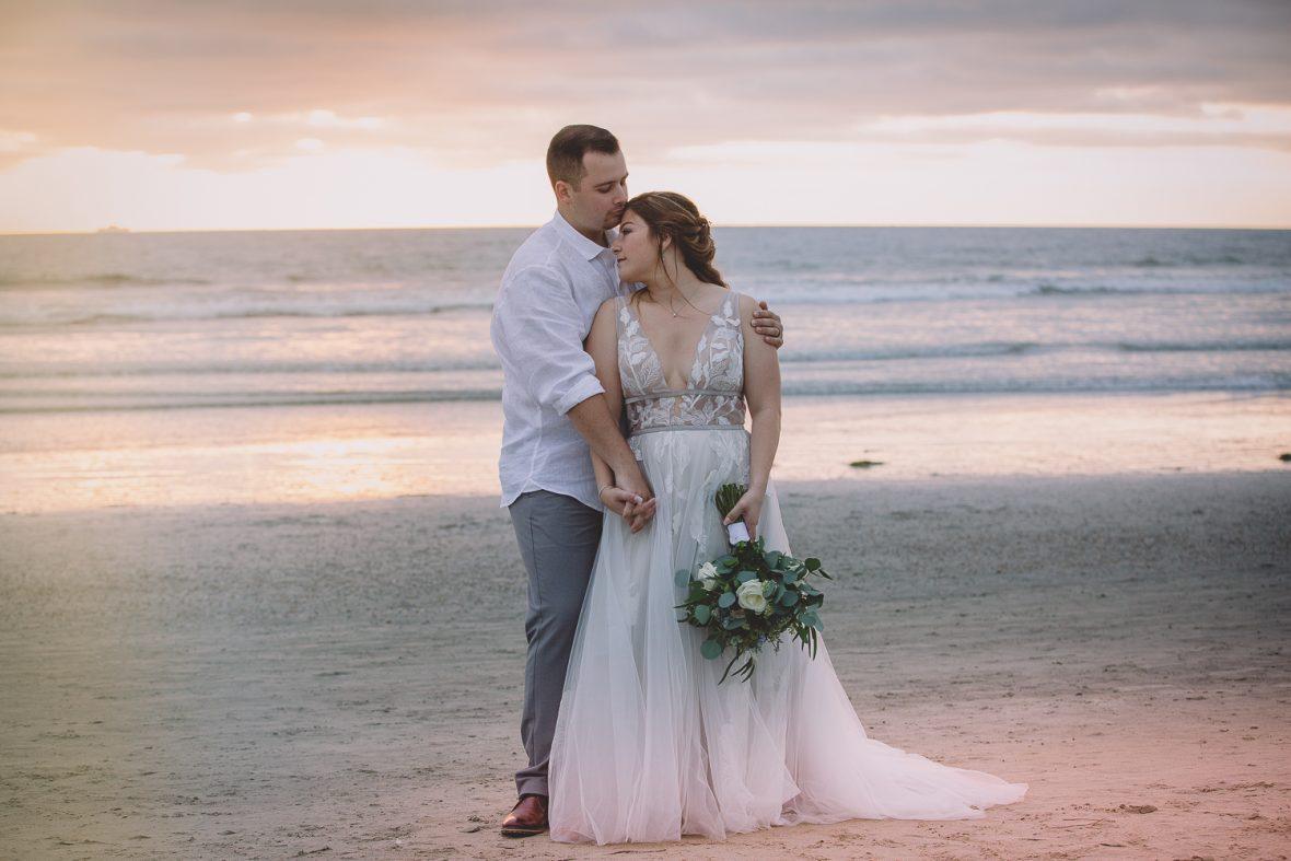 Pacific Coast Grill Cardiff Beach Wedding Photos