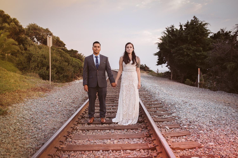 Del Mar Beach Wedding Elopement